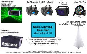 Basic Lighting Hire Plan