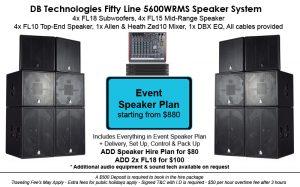 Event Speaker Plan
