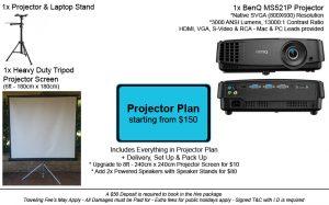 Projector Plan