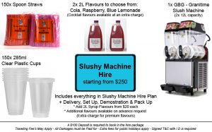 Slushy Machine Hire