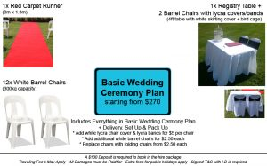 Basic Wedding Ceremony Plan