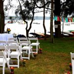 Folding Chairs & Registry Table @ Rose Bay