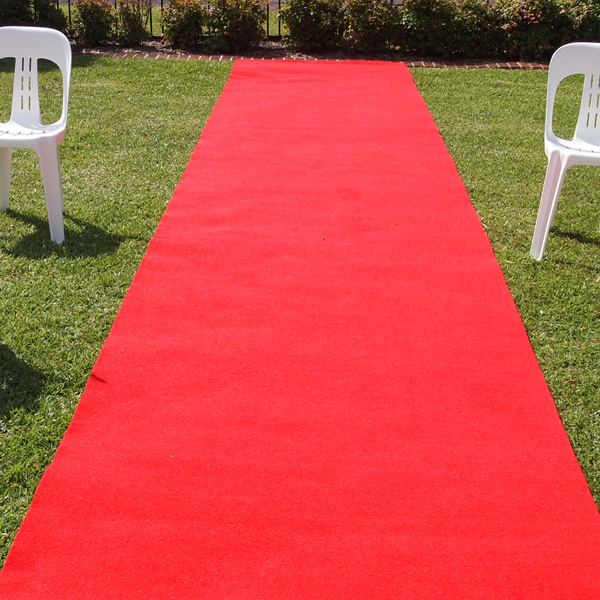8m red carpet runner